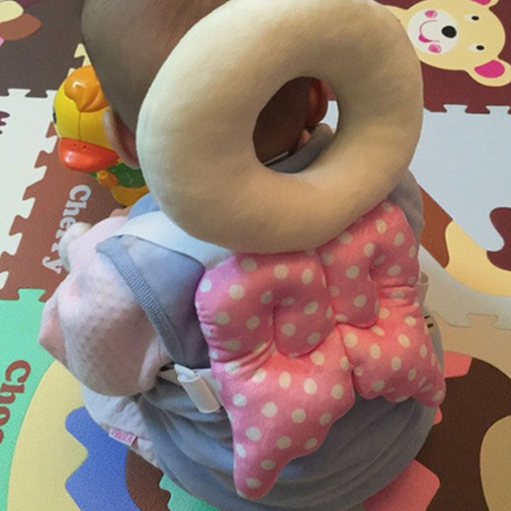 Baby Head Protection Pad Toddler Headrest Pillow Baby Neck Cute