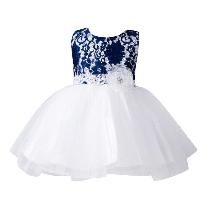Summer Baby Girl Toddler Dress Flower Infant Princess Wedding Party