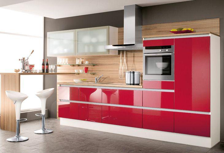 Kleine-Küche-planen-Grifflose-Frontenjpg 730×500 Pixel Küche