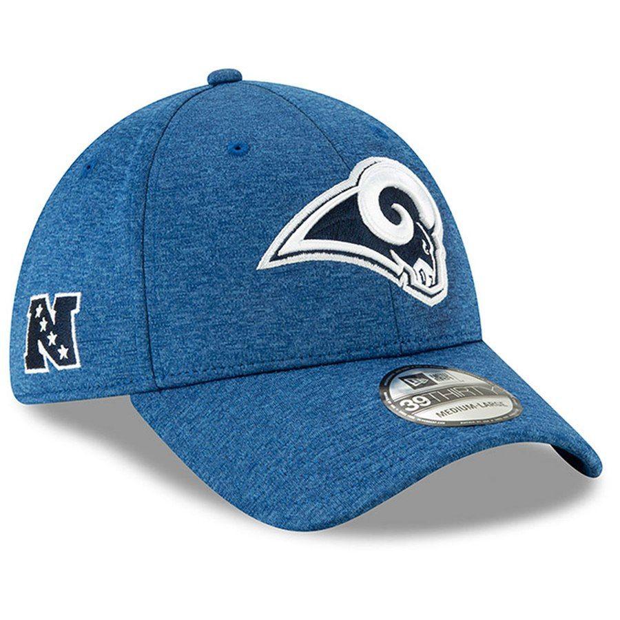 091d3e2cf5fb0 Men s Los Angeles Rams New Era Heathered Royal 2019 NFL Pro Bowl 39THIRTY  Flex Hat