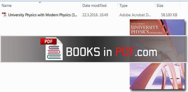 Pdf university physics textbook