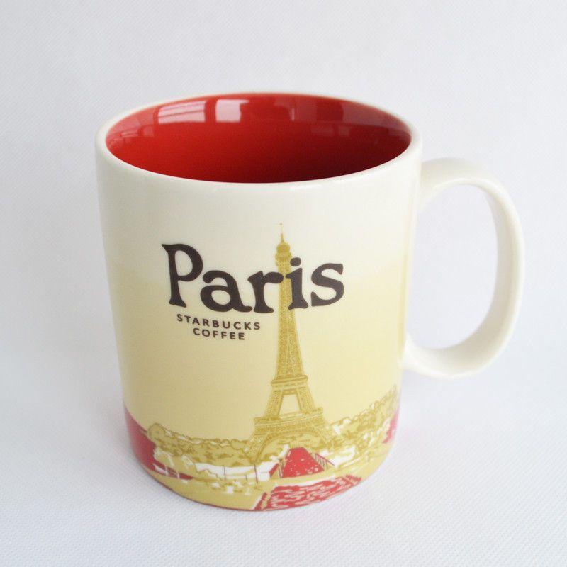 Starbucks paris christmas mug gift