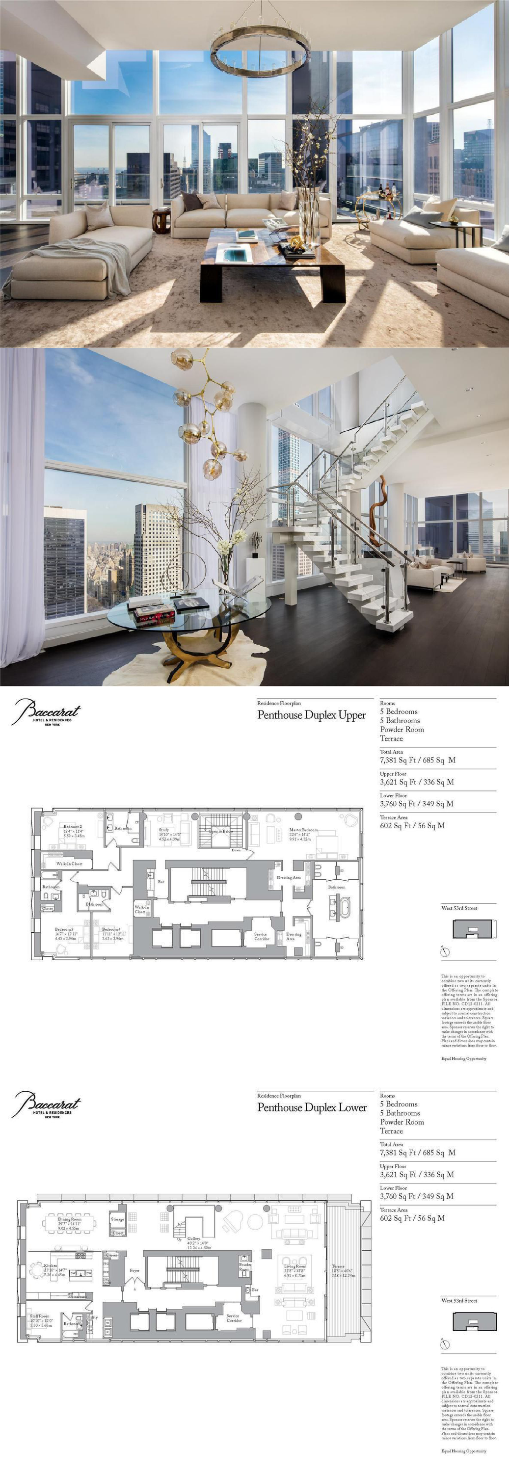 Baccarat penthouse returns for $3M less than two years after