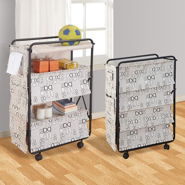 Double D Storage Racks Solve Your Problem Of Littered Clothes Around Room