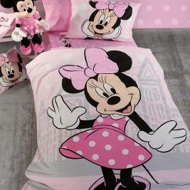 c4239186c84 Σεντόνια Μονά (Σετ) Nef-Nef Disney Minnie Cute | Home decor | Disney ...