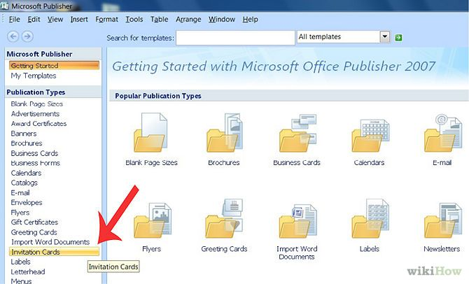 Create an Invitation in Microsoft Publisher – How to Make Invitations with Microsoft Word