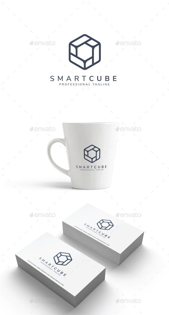 Smart Cube Logo  Logo Templates Logos And Template