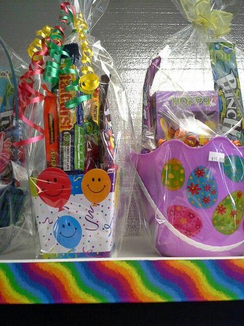 Easter n birthday baskets