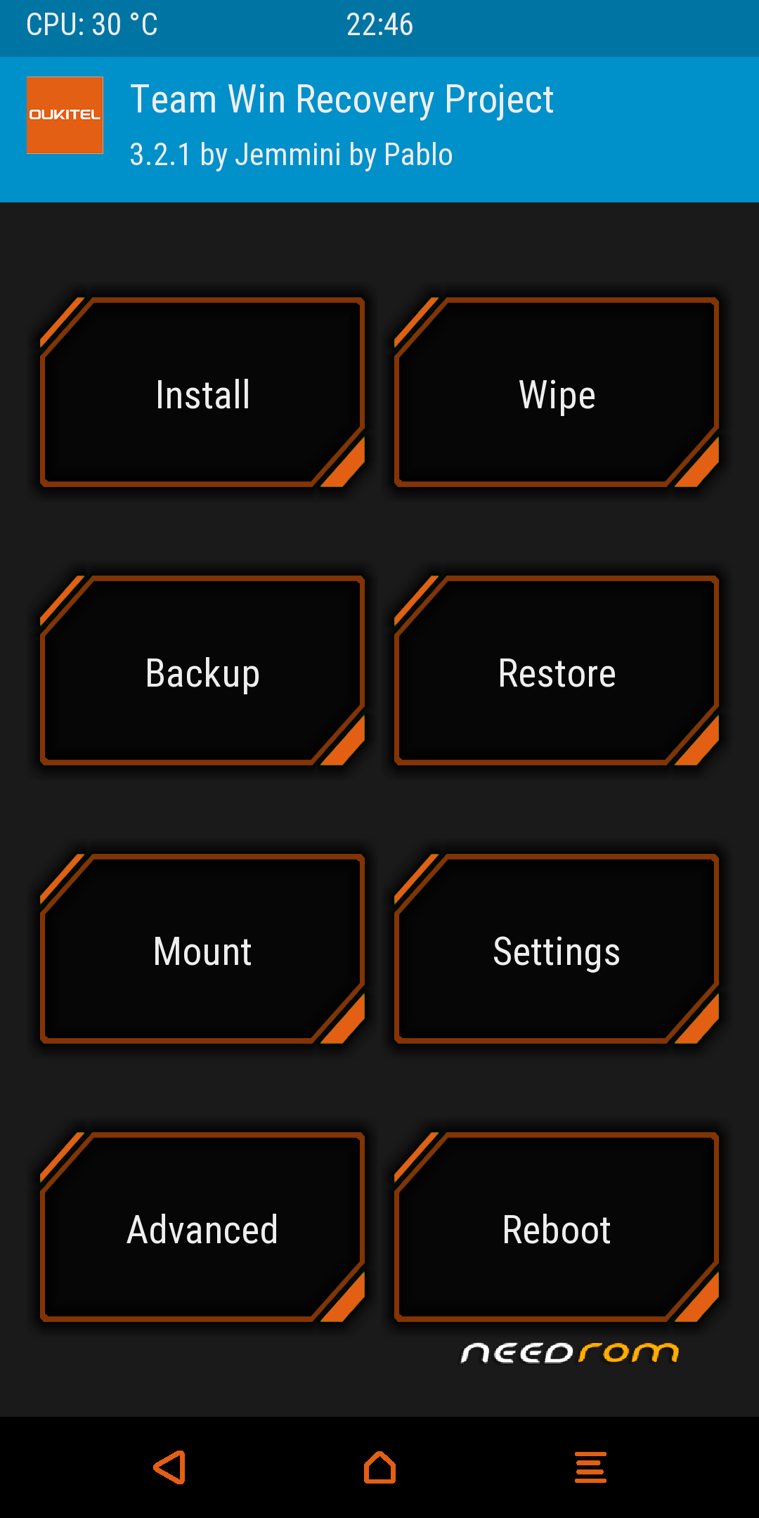 TWRP for Oukitel Mix 2 | Repair Solution