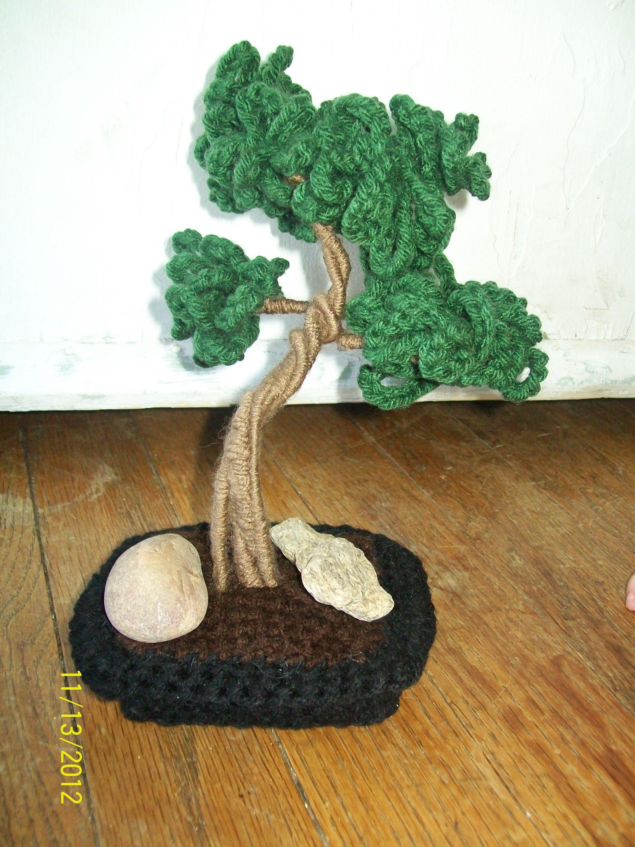 Bonsai Tree | Bonsai | Pinterest | Blumen häkeln, Baum und Amigurumi