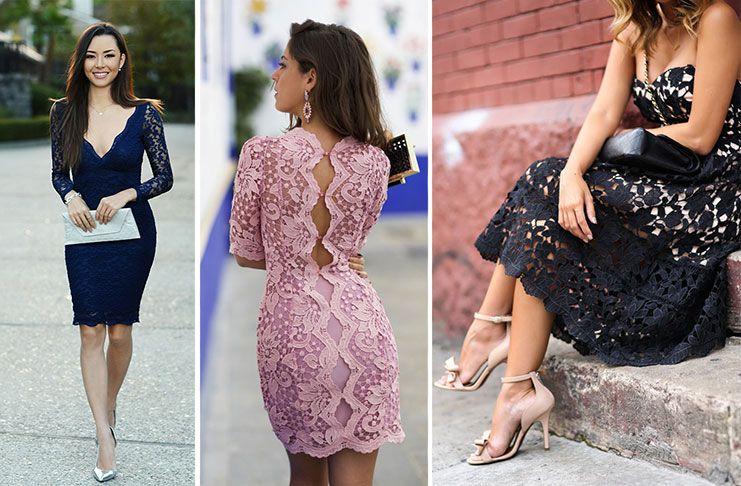 f9c3949f6525 Δαντελένιο φόρεμα  Υπέροχοι συνδυασμοί για εντυπωσιακές εμφανίσεις ...