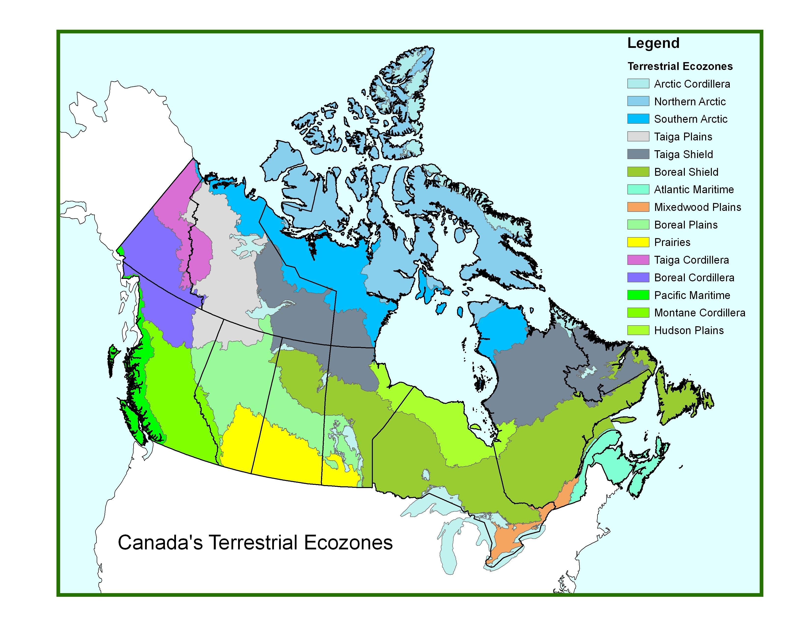 Canadian Ecozones