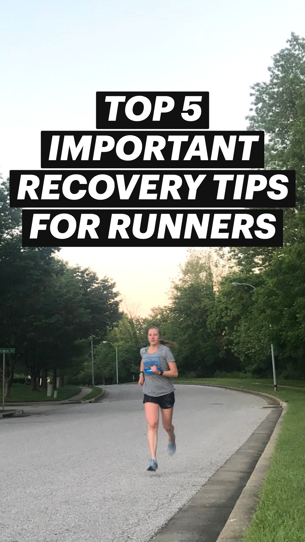 Top 5 Important Recovery Tips for Runners