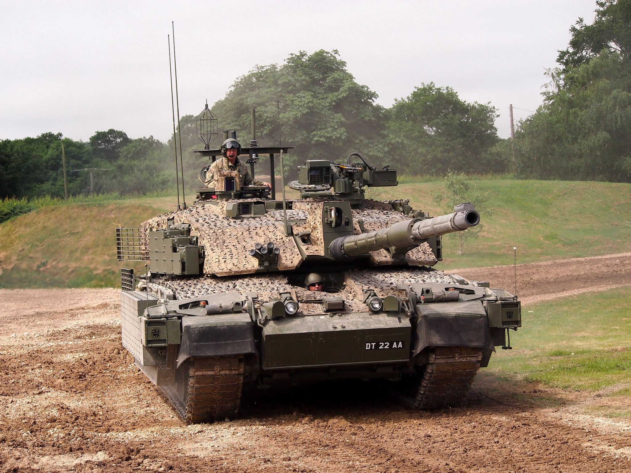 9b432b610201 Challenger 2 main battle tank nicknamed