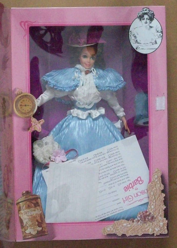 NEW GIBSON GIRL   First Edition Great Eras Collection 1993 Barbie Doll - MIB #Barbie