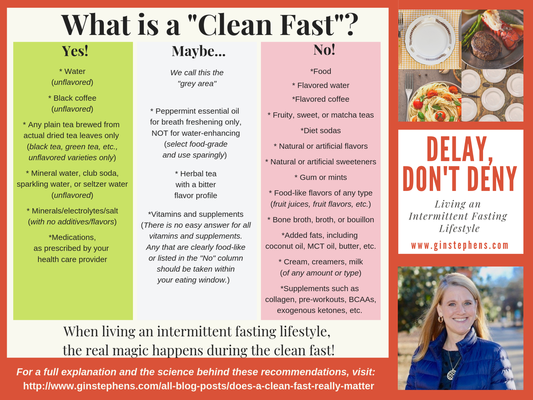 Spoiler Alert Yes I Genuinely Believe That A Clean Fast Is The Key To Successful Intermittent Fasting Based On E Sugar Free Gum Brewing Tea Flavored Water