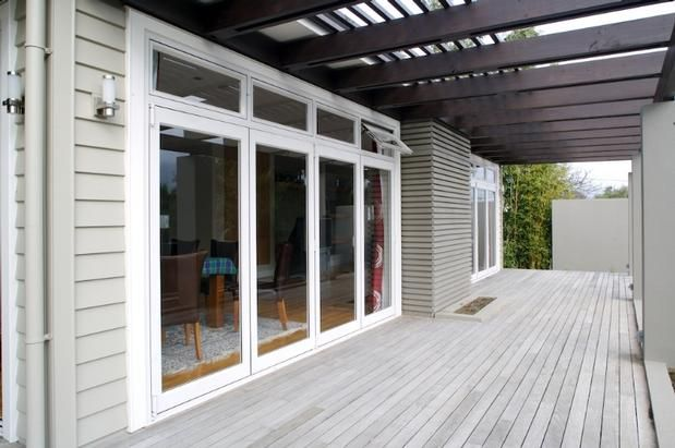 Contemporary modern weatherboard homes google search for Weatherboard house designs