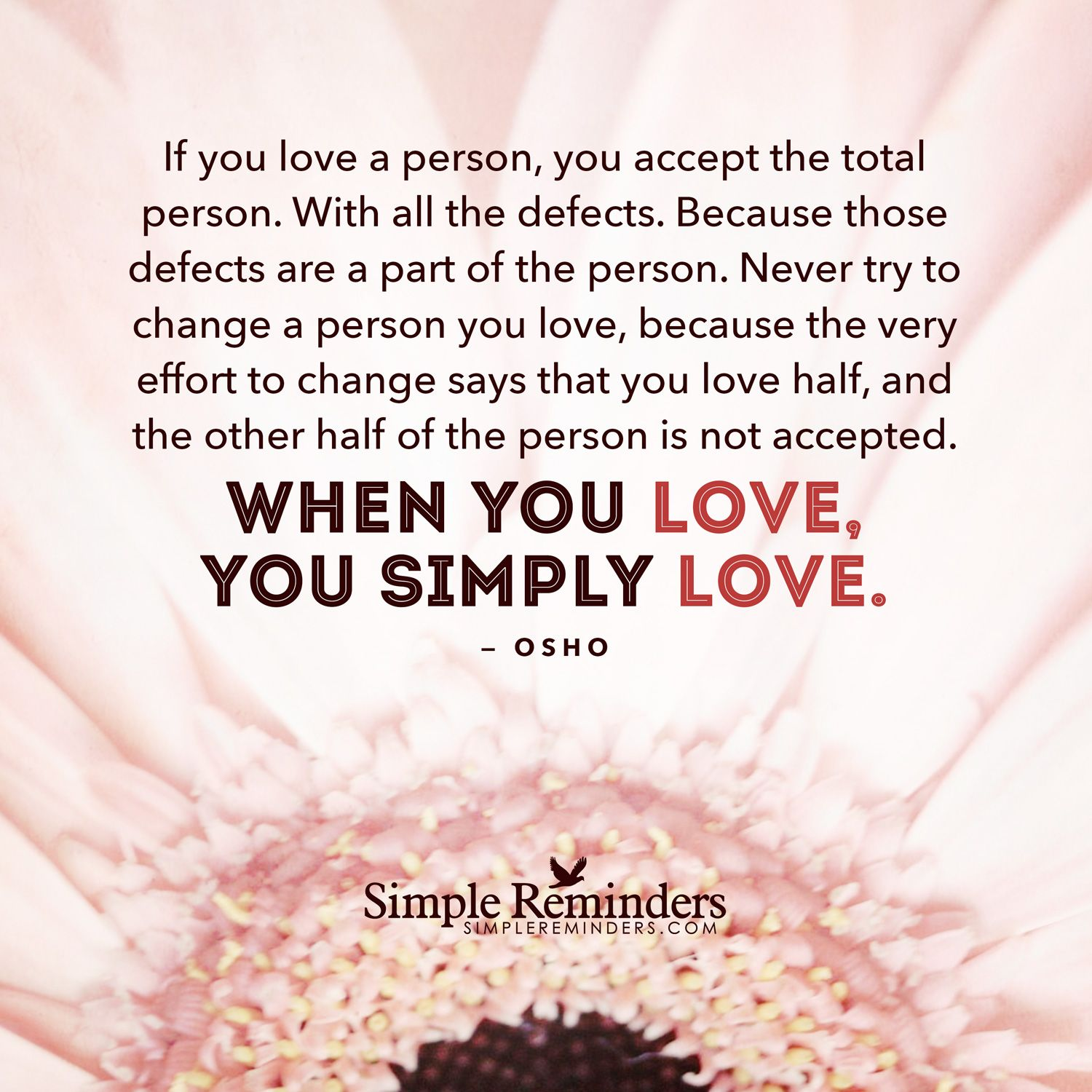 Osho about love. Osho: quotes about the love of men and women, about the love of self 56