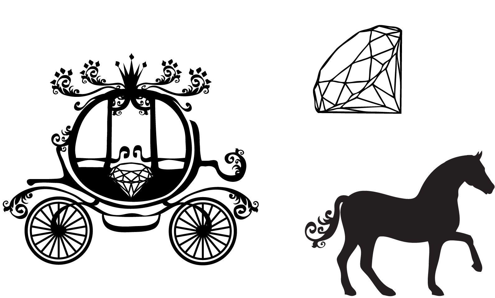 Cinderella Vector Carriage