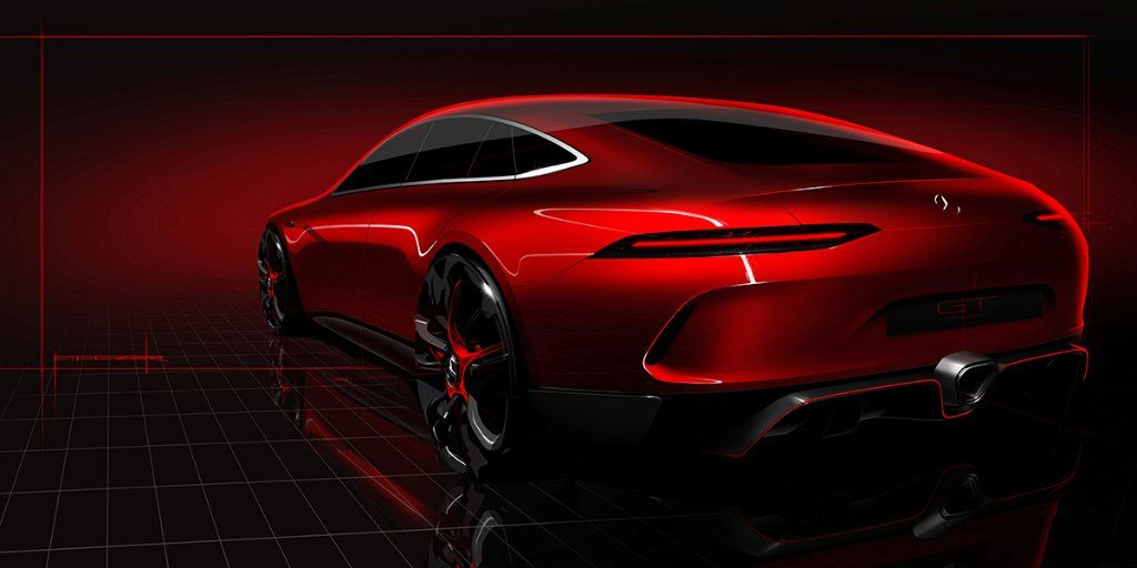 The Mercedes-AMG GT Four-Door Concept Should Be Pretty Kickass