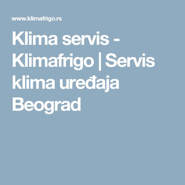Klima Servis Klimafrigo Servis Klima Uređaja Beograd Mobile Boarding Pass