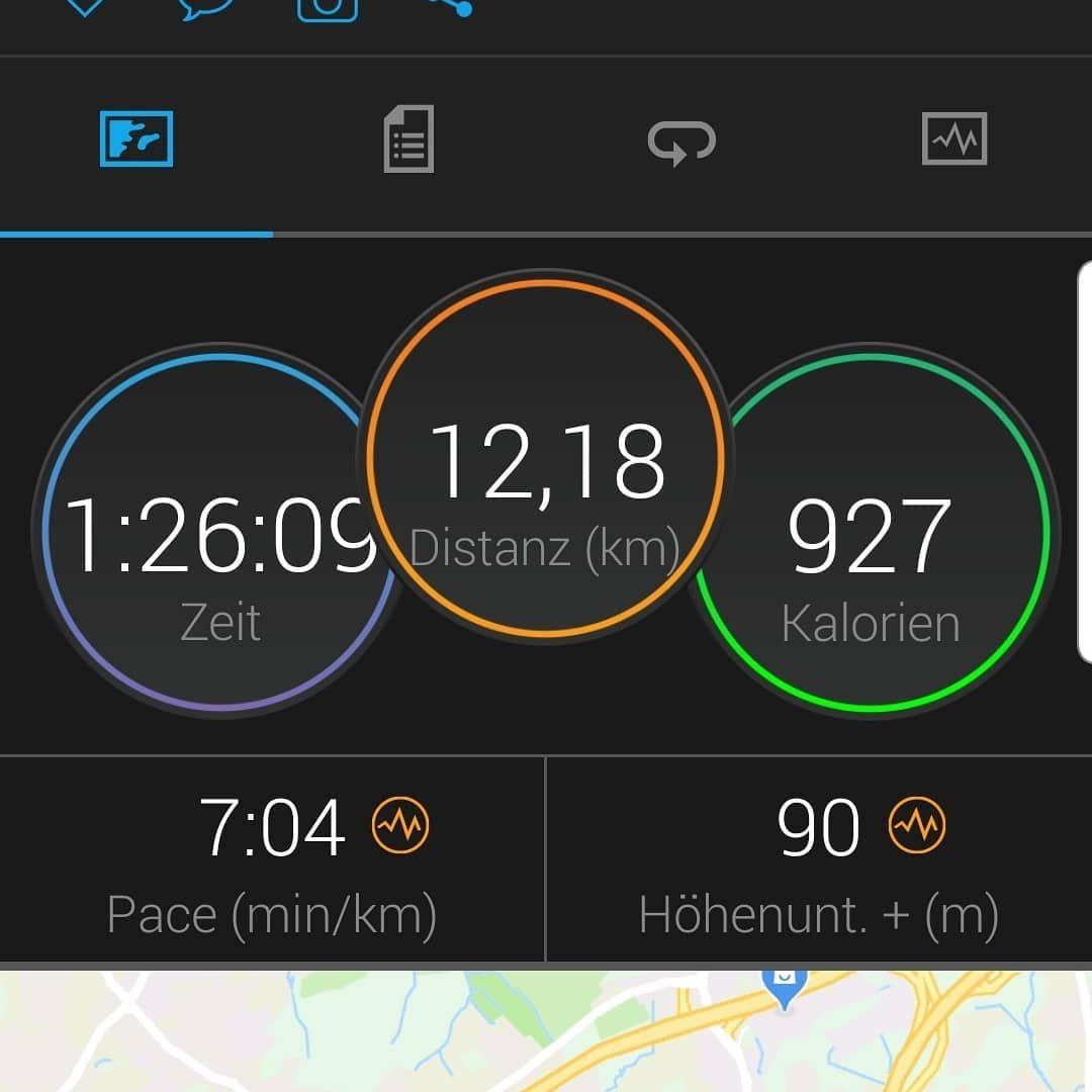 Sonntagslauf entspannt. 🏃♂️😎 enjoy. #laufen #running #fitness #fitbleiben #fit #ausdauer #floristik...