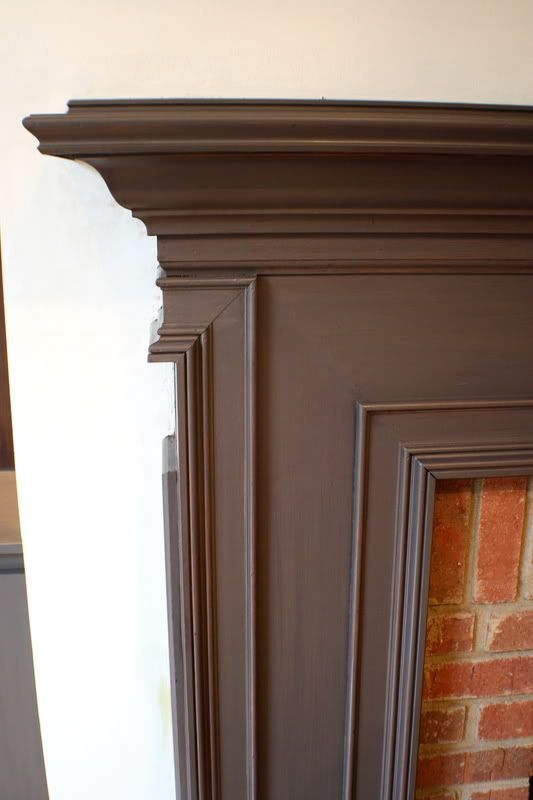 brown painted kitchen cabinets. Painted In Benjamin Moore\u0027s \ Brown Kitchen Cabinets