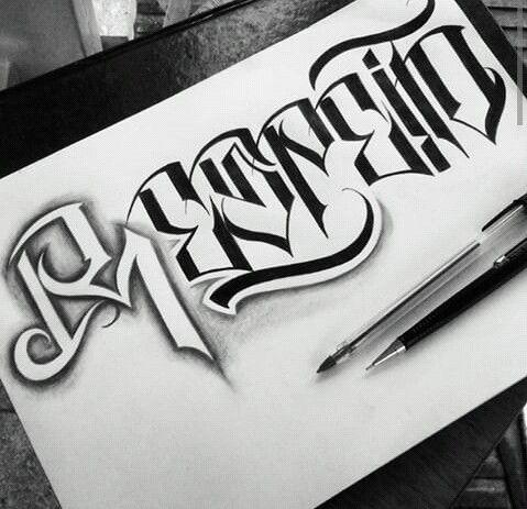 Lettering Tattoo Lettering Fonts Graffiti Lettering Lettering