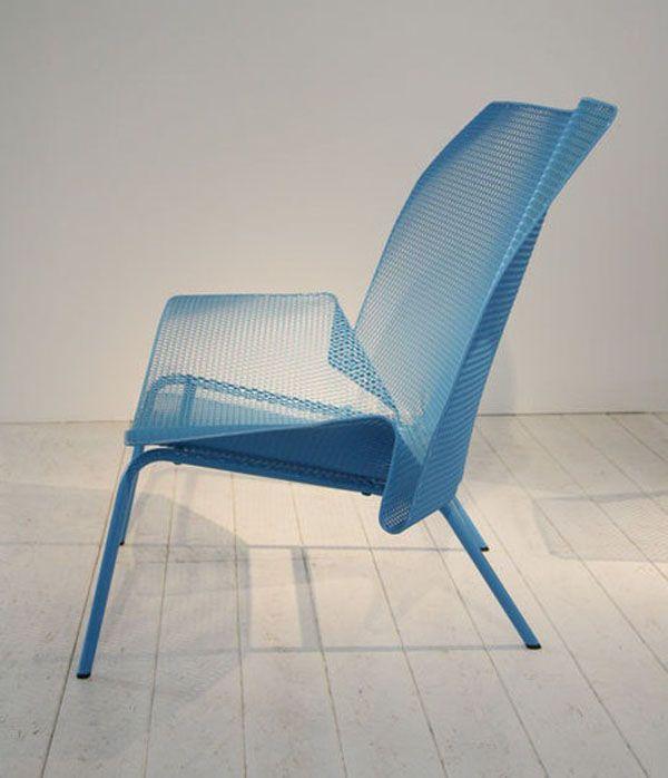 Blue Grillage By Francois Azambourg Mobilier Mobilier De Salon Design