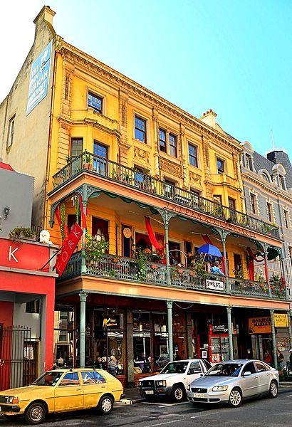 Old YWCA Building, 78 Long Street, Cape Town. BelAfrique your personal travel planner - www.BelAfrique.com