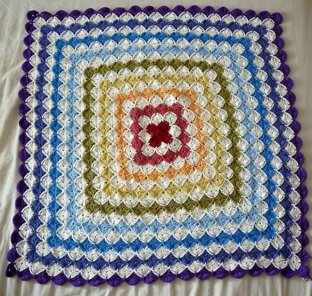 Easy] Wool Crochet Eater Blanket | trudy | Pinterest