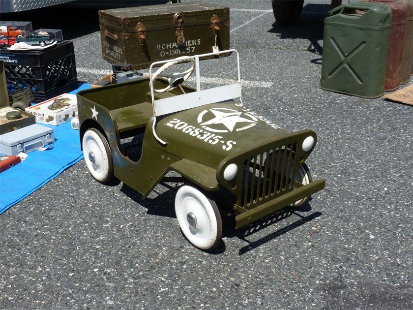 Vintage pedal cars | Pedal car, Vintage jeep and Cars