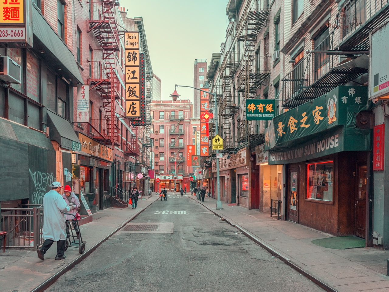Colourful Chinatown In New York City City Photography Beautiful Landscape Photography New York Chinatown