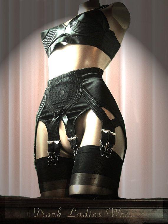 e0dda863b The same garter belt worn by Dita Von Teese in her Erotique video and promo  pictures!! Dark Ladies Wear Arabella Girdlette …..50 s Retro Style 10 or 6  Strap ...