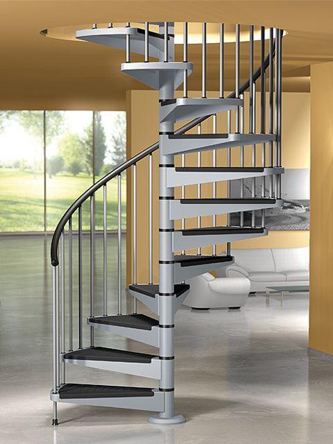 Escalera de caracol star de maydisa ni for Escalera caracol interior casa