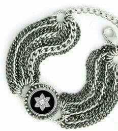 Artisan Chain bracelet. Ever popular. As seen in February 2017 InStyle magazine