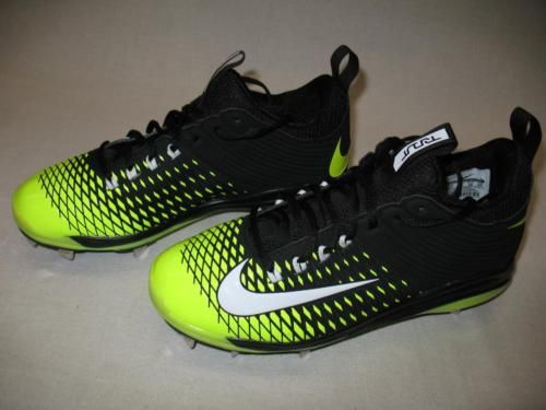 Nike Air Mike Trout 2 Pro Mens Softball Baseball Metal Cleats Black Neon  Mens 7