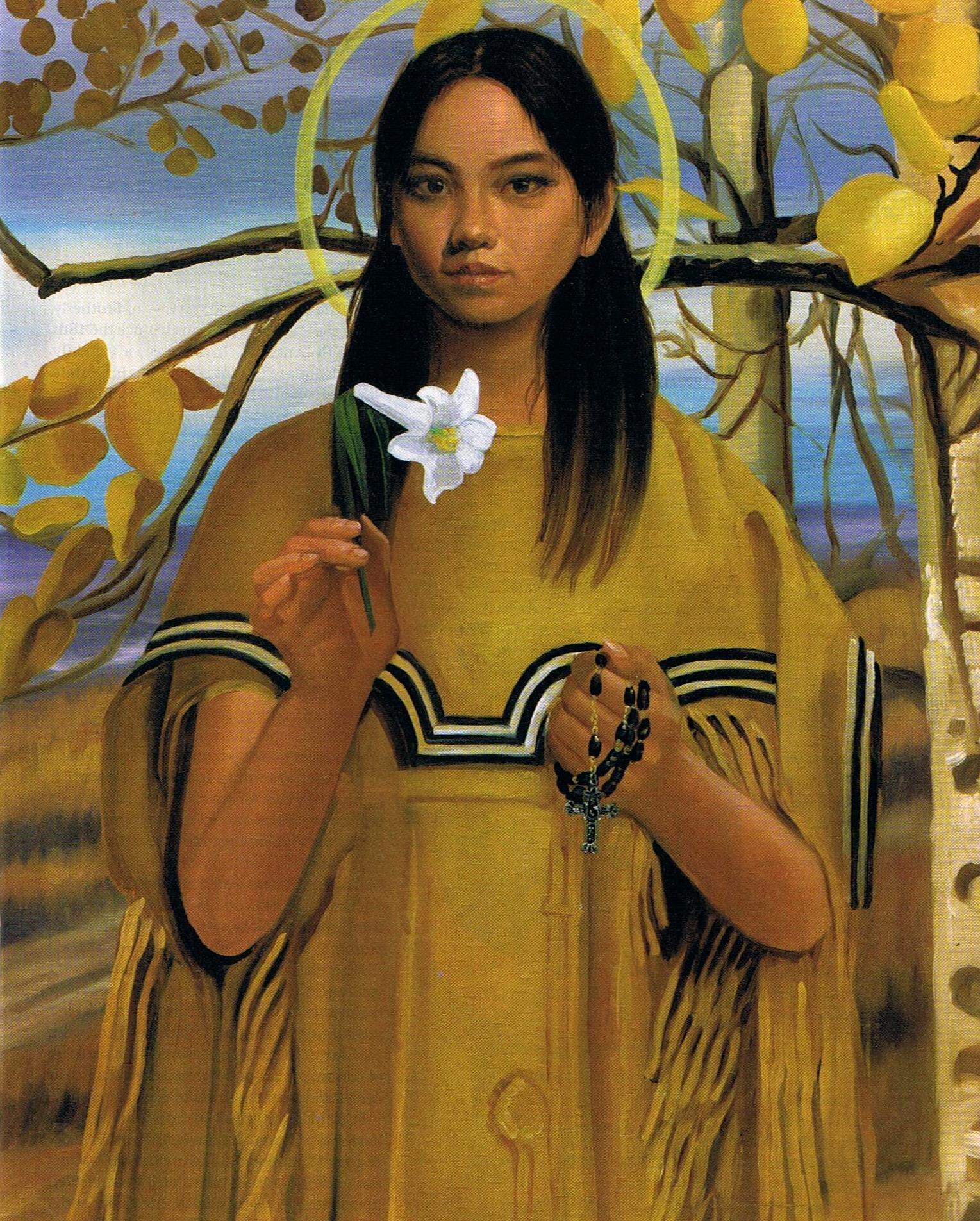Catholic indigenous Mohawk saint