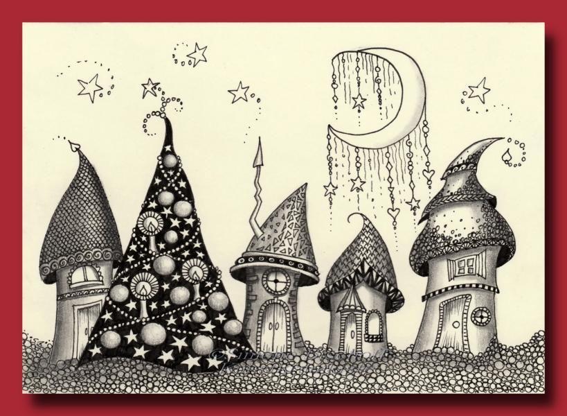 galerie  karten  Рисунки Рождественские открытки Открытки