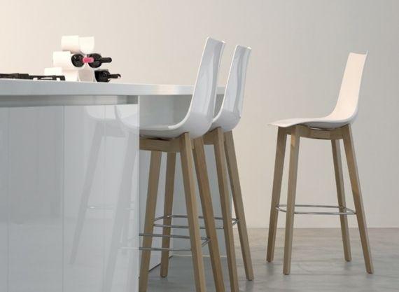 Tabouret de bar design en bois - Sledge | Cuisine | Pinterest | Bar ...