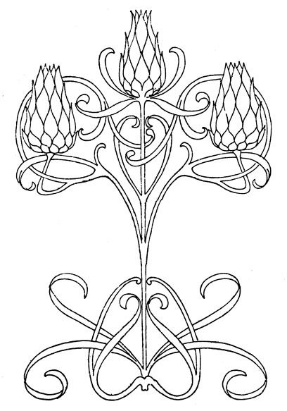 celtic Stepping Stone pattern