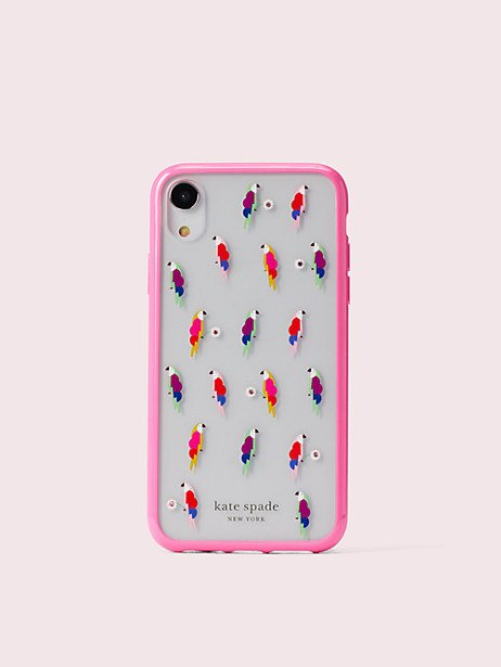 Kate Spade Jeweled Flock Party Iphone Xr Case Iphone