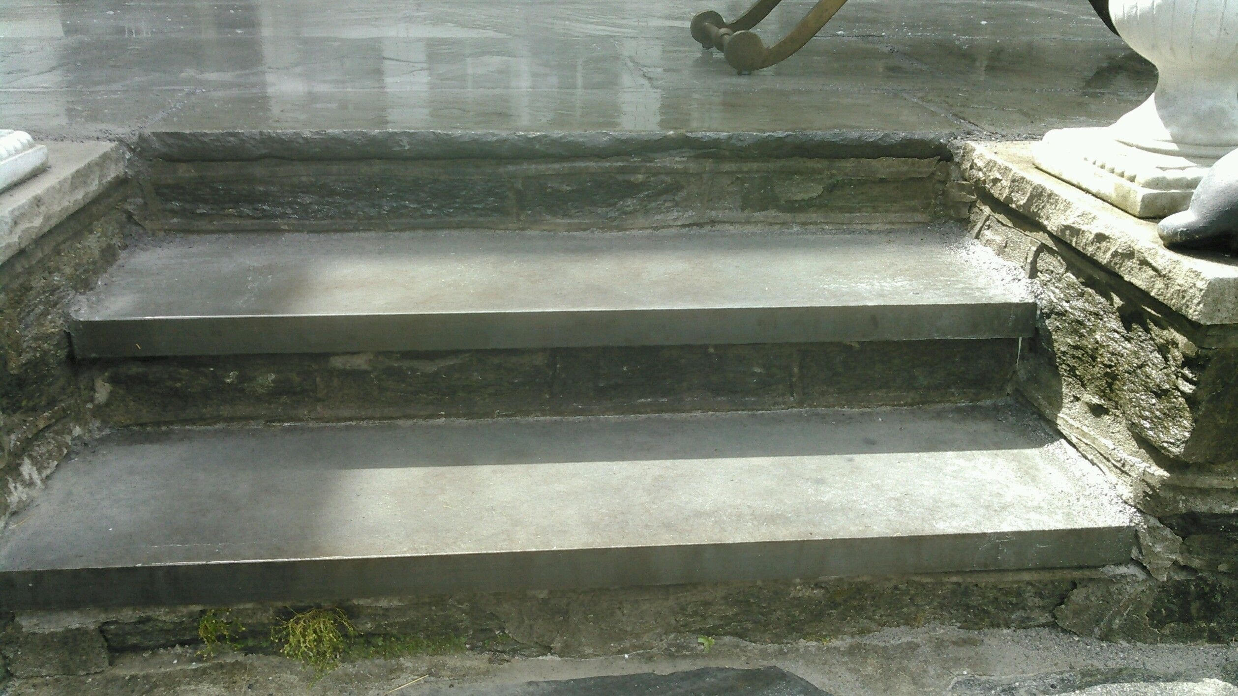 Slate Stair Tread Replacement.