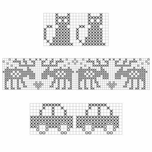 Photo of pattern Katze, Elche, Autos