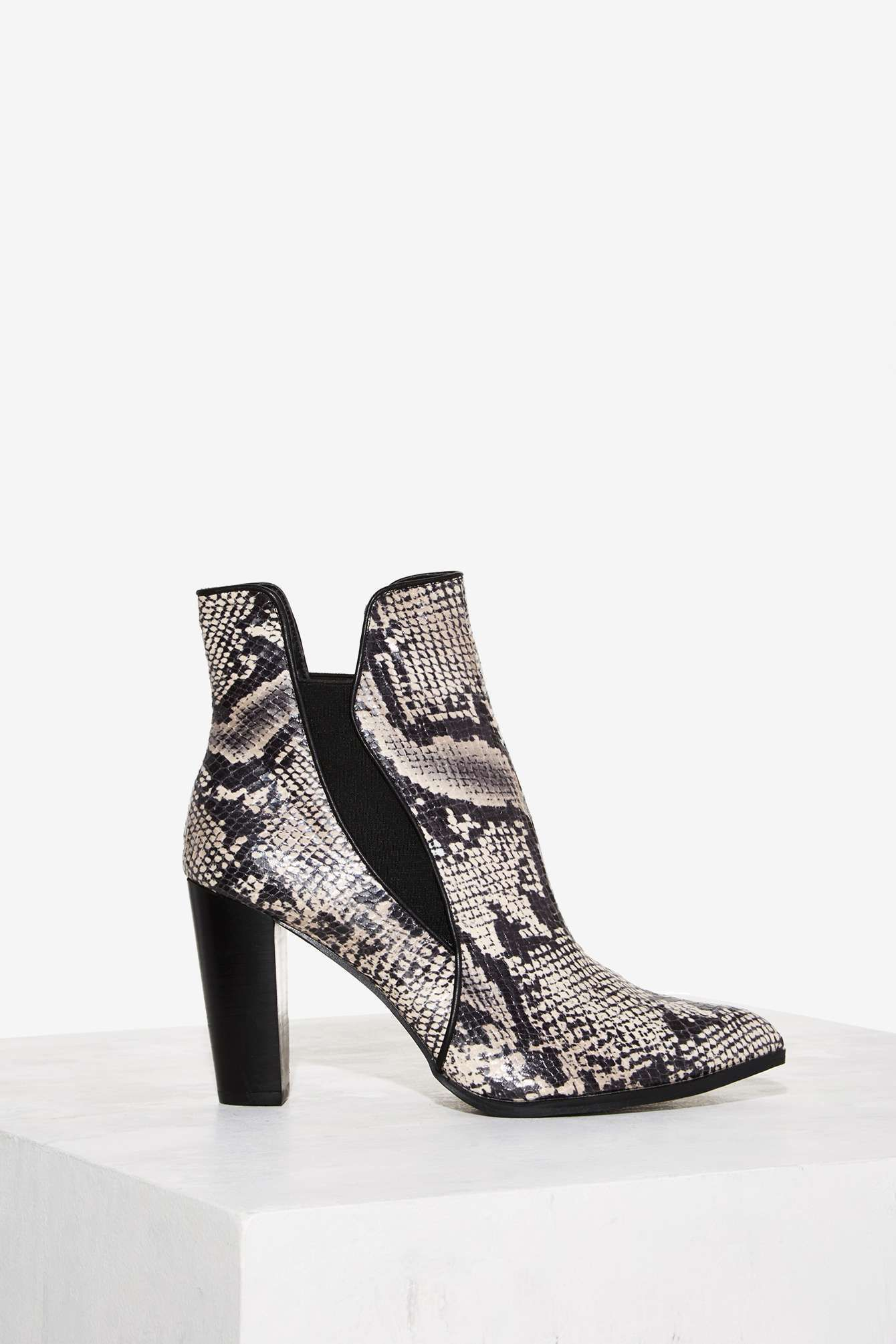 bde888aba131 Have Your Snake Textured Bootie