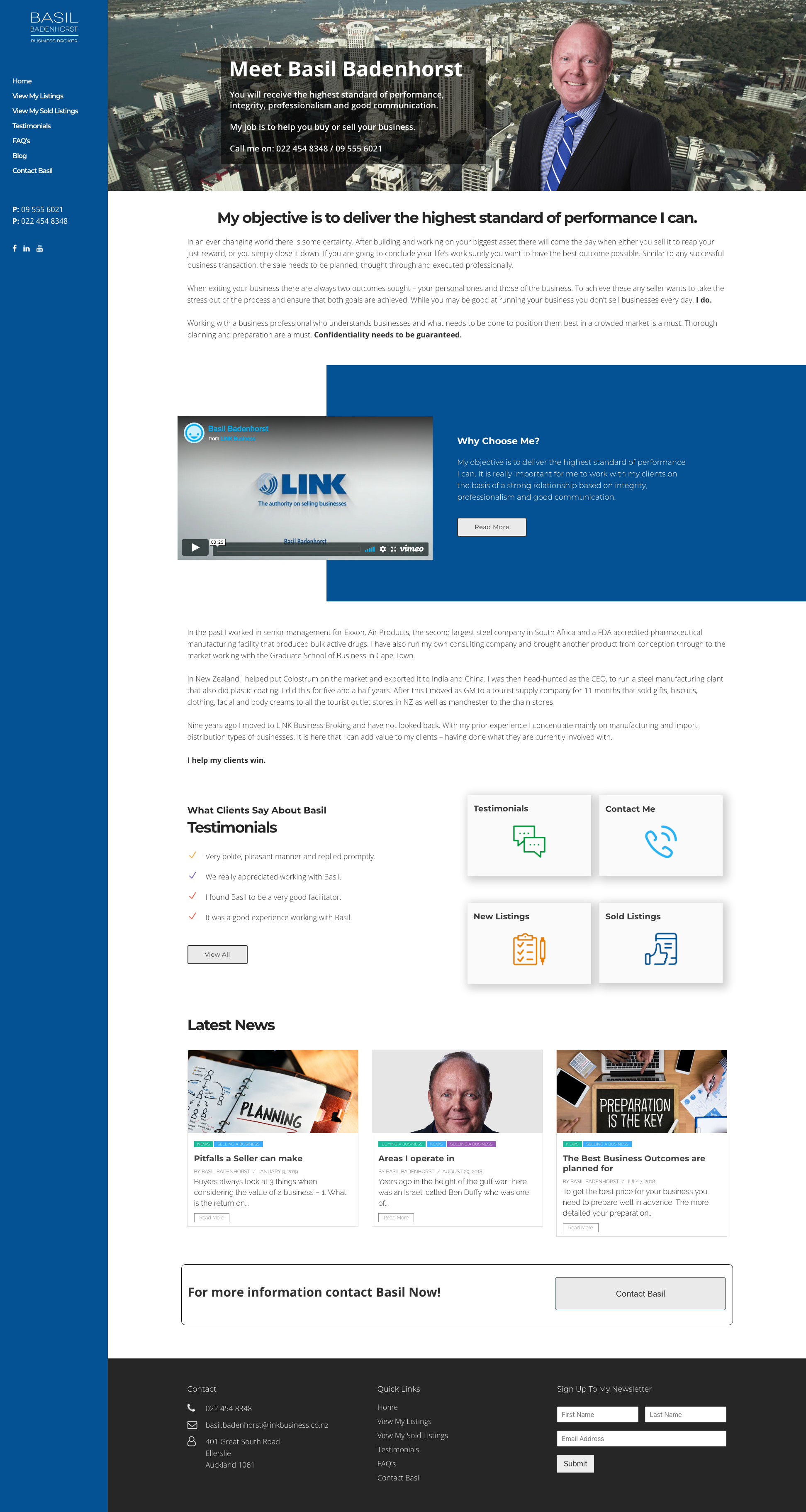Design For A Business Broker In 2020 Web Development Design Custom Web Design Custom Website Design