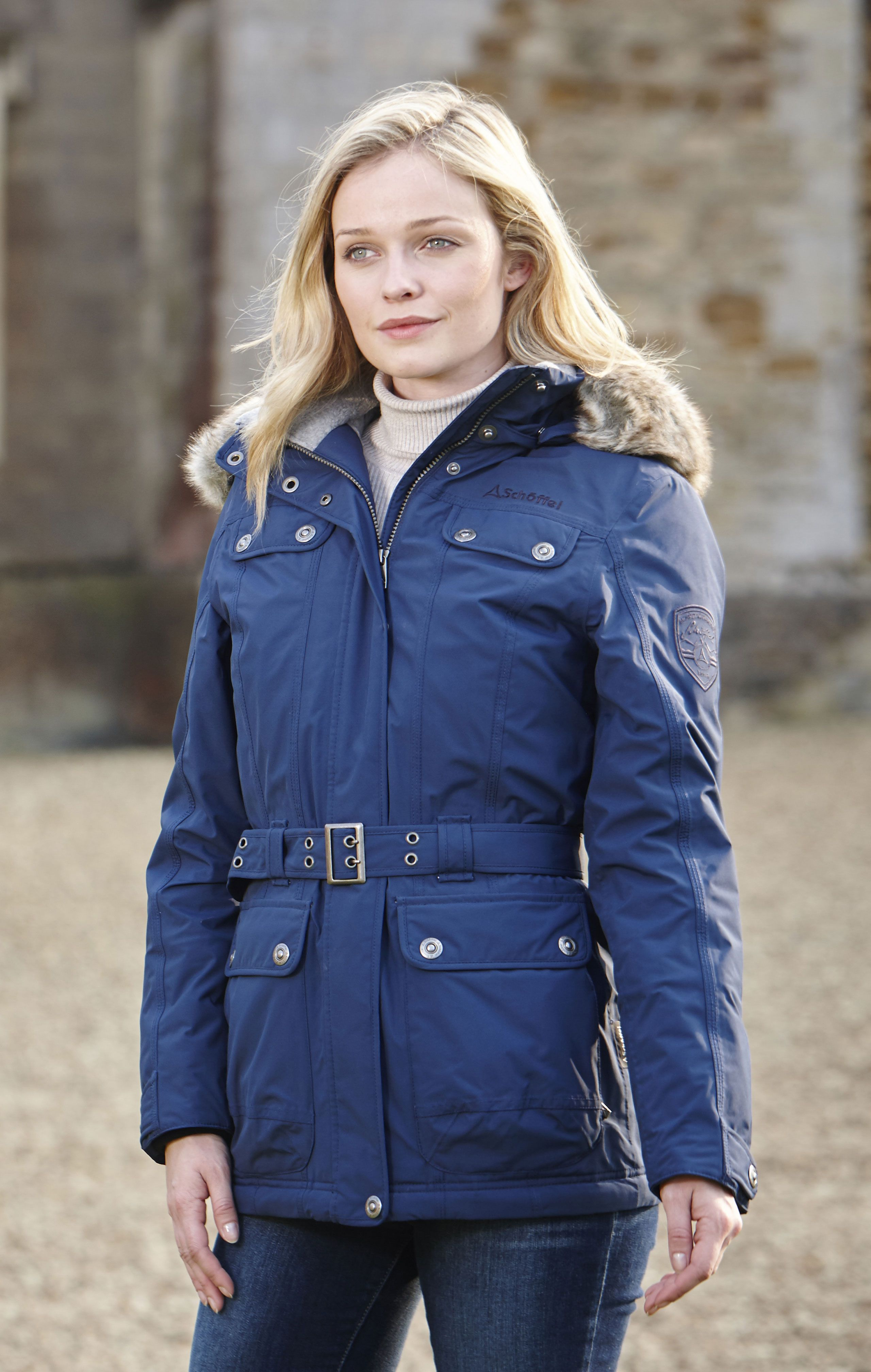 Ladies Schoffel Tabea coat - This new beautifully stylish coat is perfect for cold autumn days