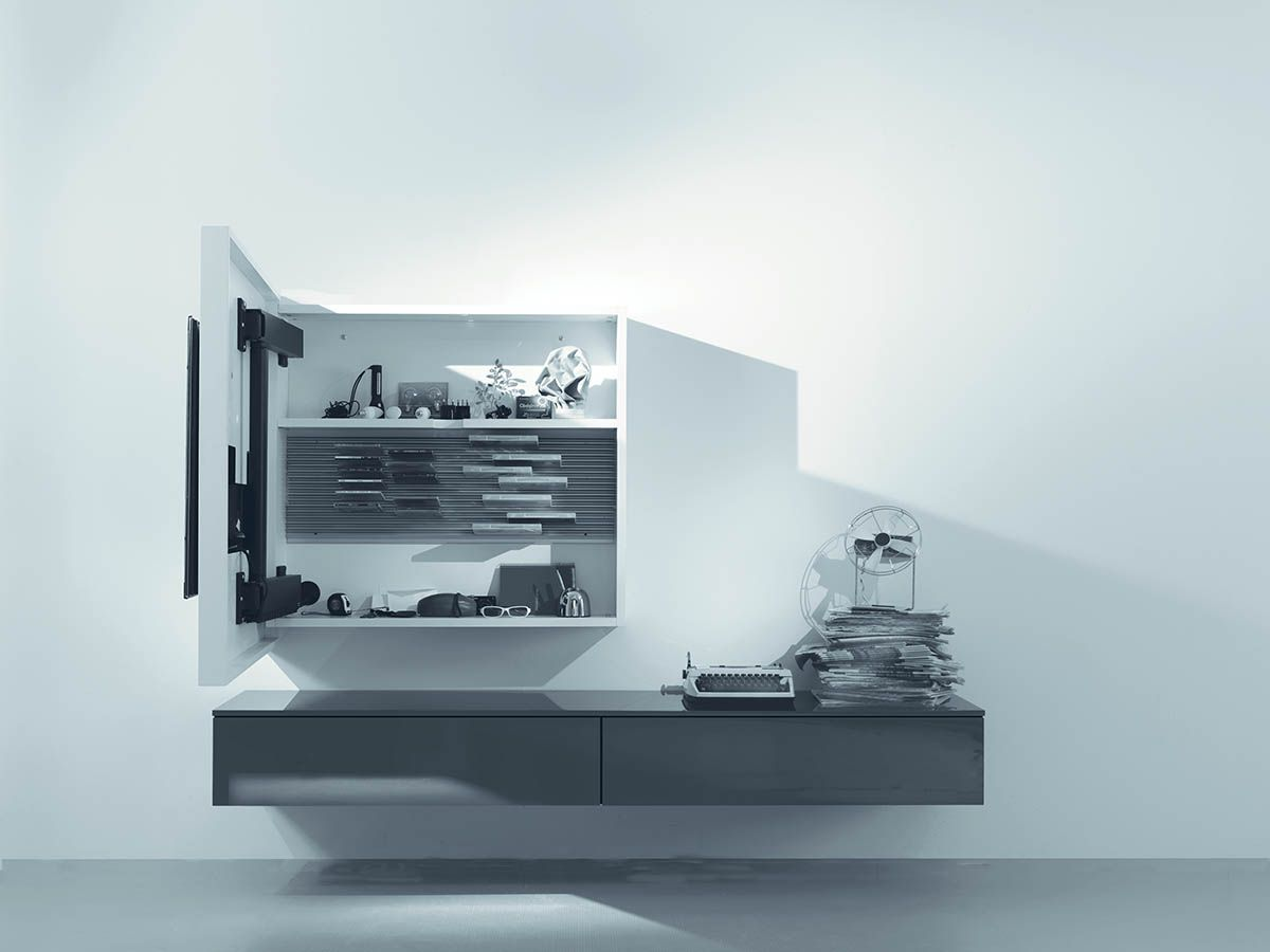 Porta tv orientabile, porta-tv girevole by Fimar | мебель для ...