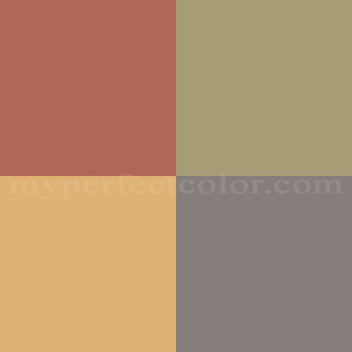 Terracotta Color Combinations On Screen Representations May Vary From Actual Paint Colors