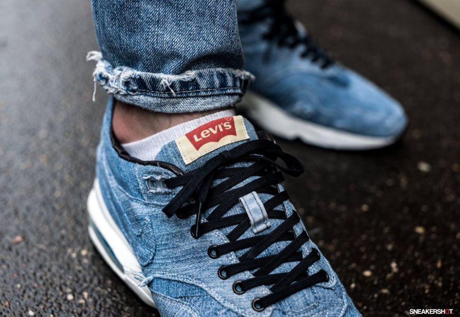 new product 5f667 88d66 Nike Air Max 1 x 93 'Levi's' | shoe's | Nike air max, Nike ...